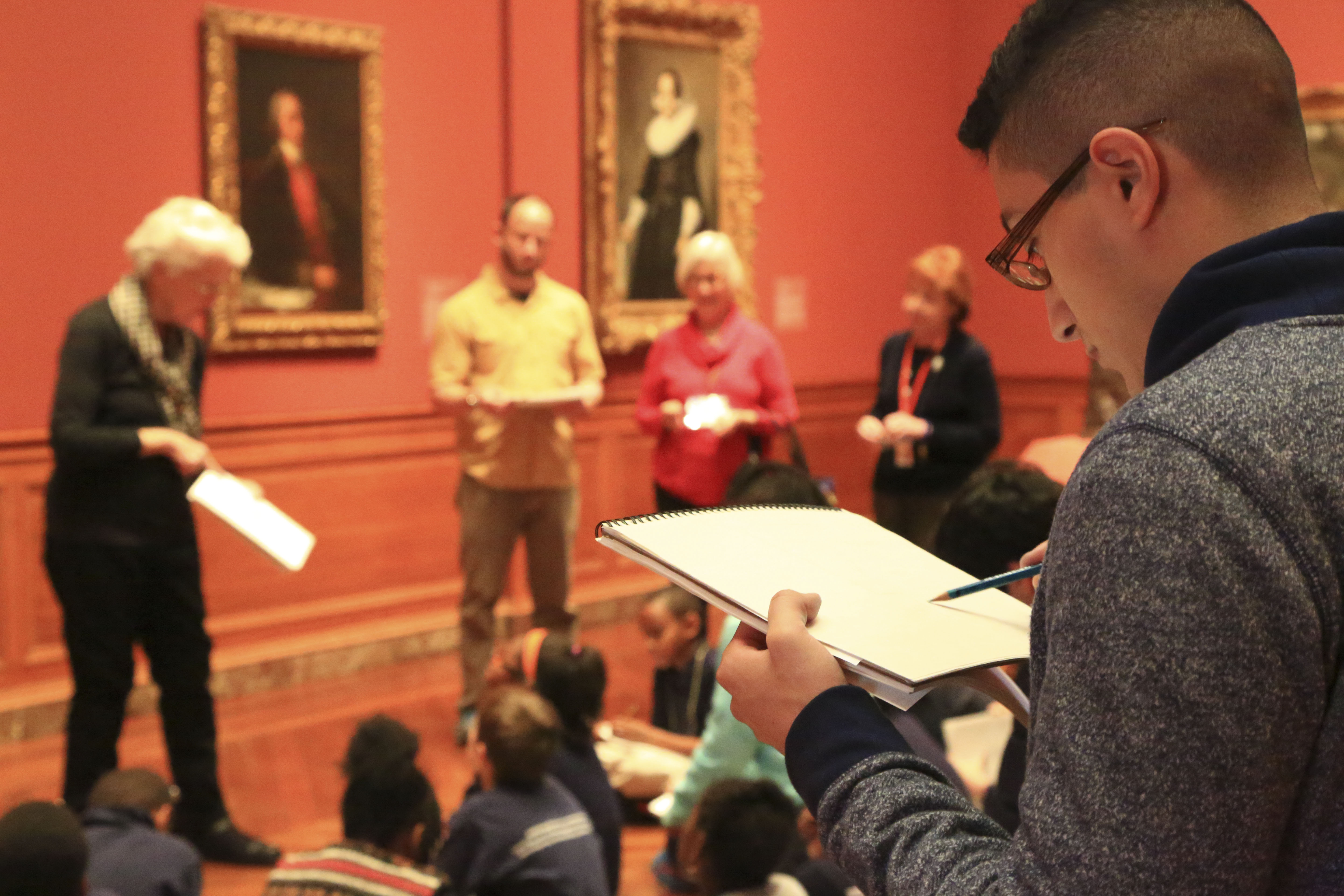 Students expand their learning at the Baltimore Museum of Art