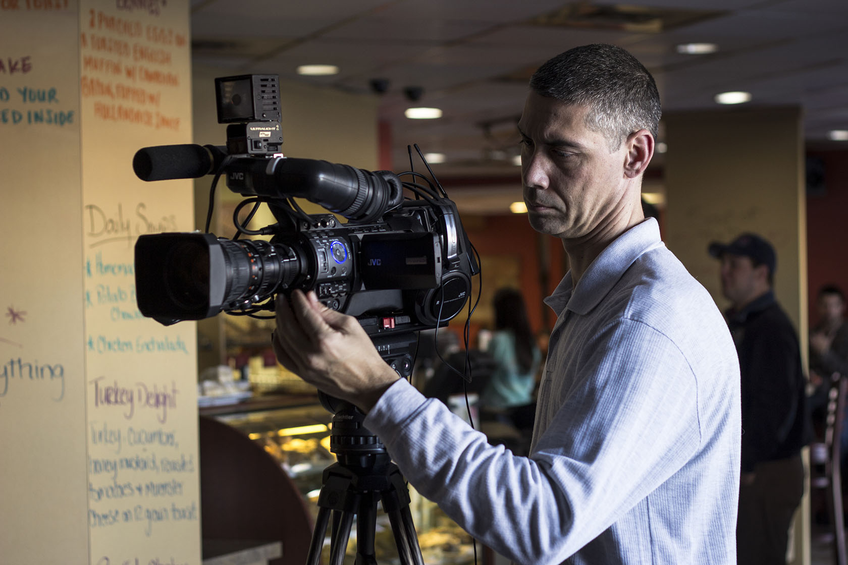 BCS students learn how to produce video documentary features