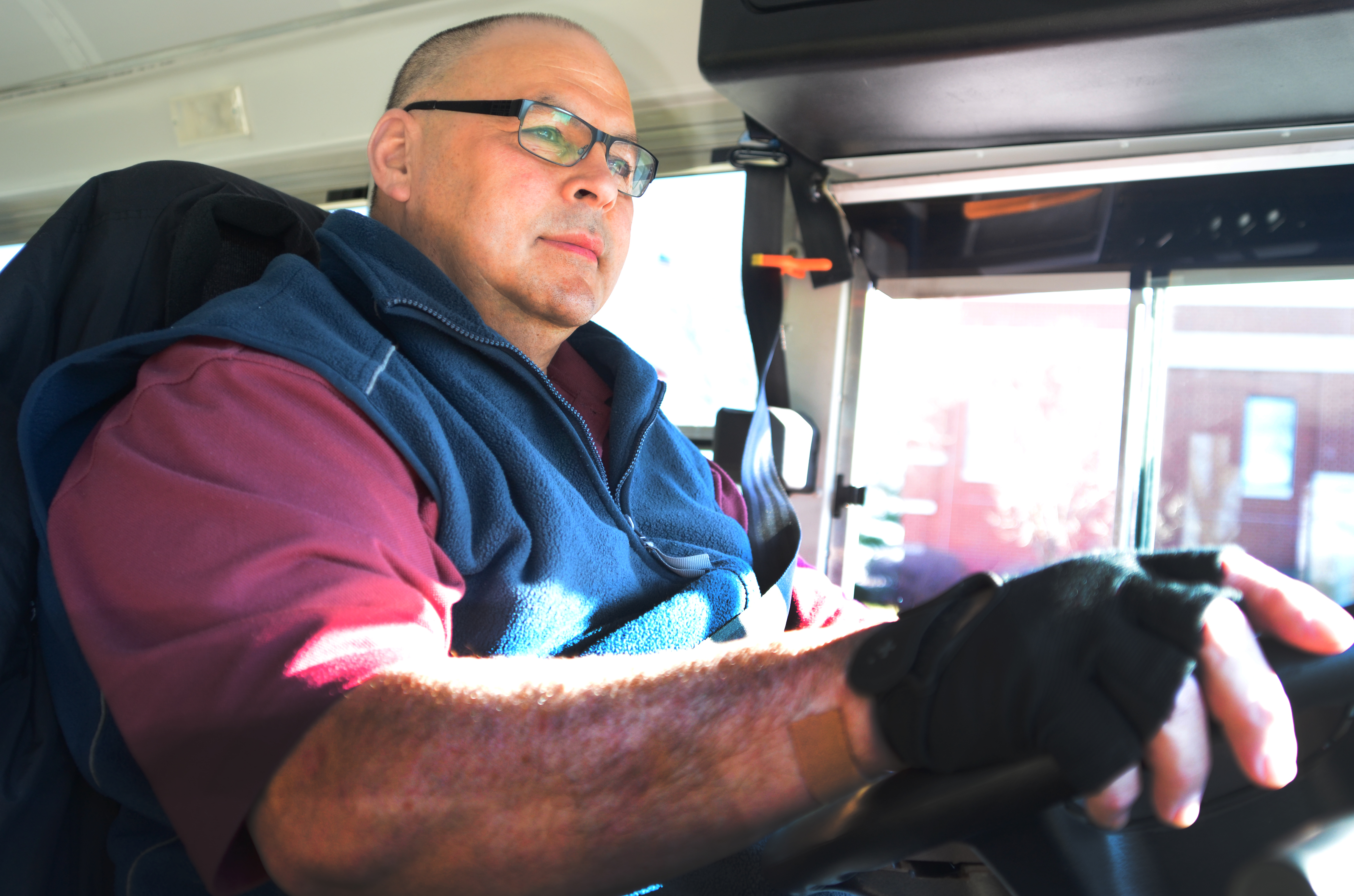 Driven to serve: DINFOS bus drivers go the extra mile