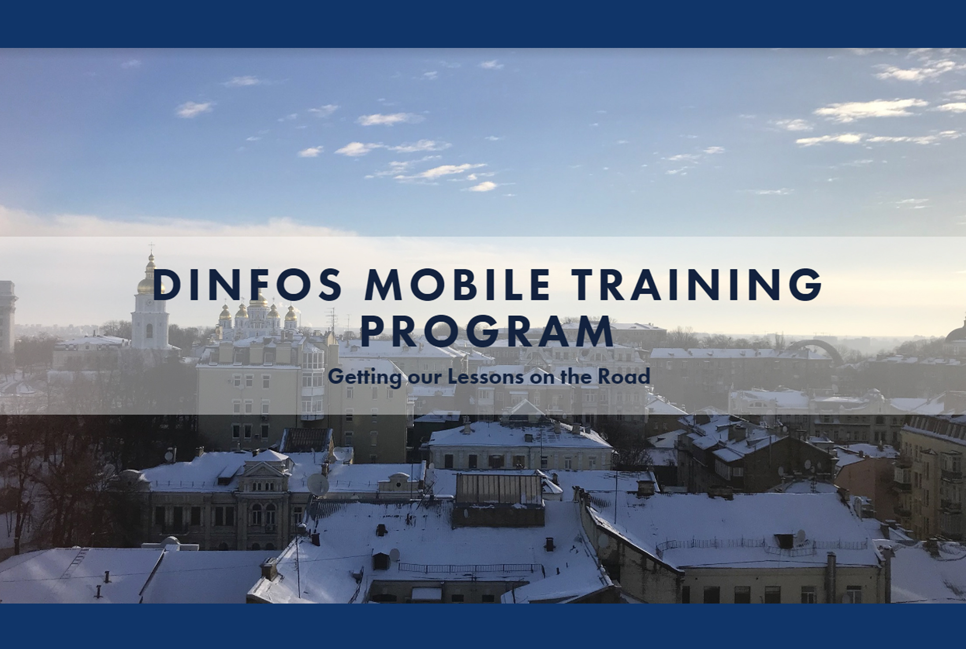 DINFOS takes learning on the road
